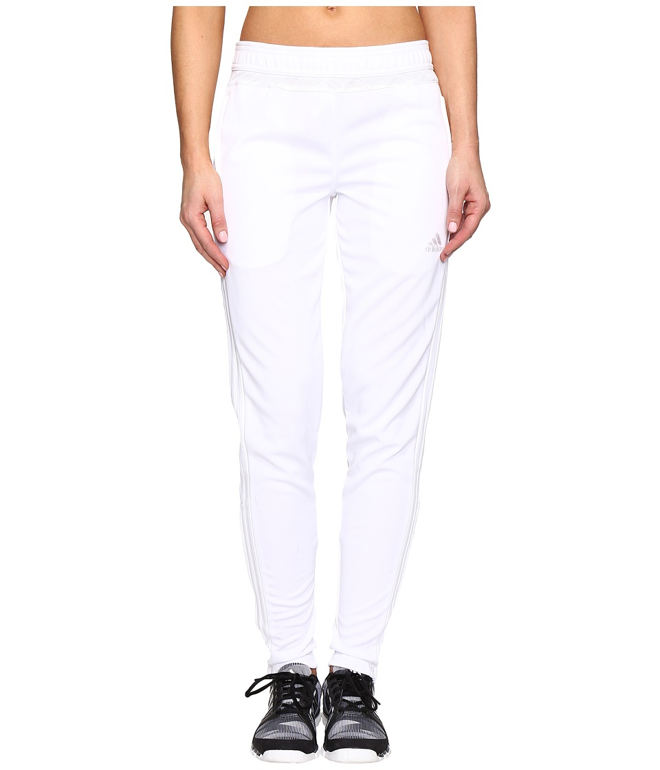 adidas Tiro 15 Training Pant (White/White) Women