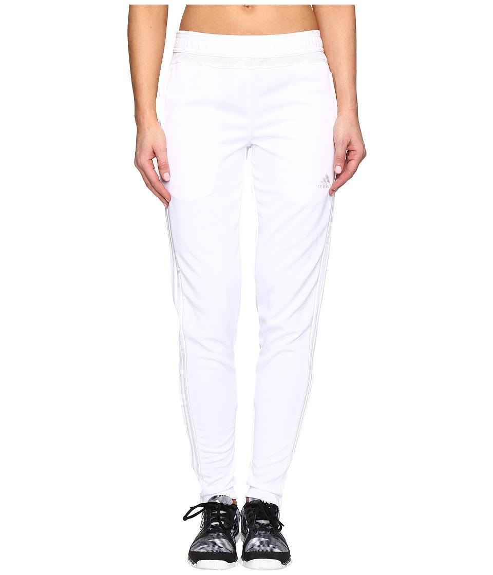 adidas - Tiro 15 Training Pant (White/White) Women's Casual Pants