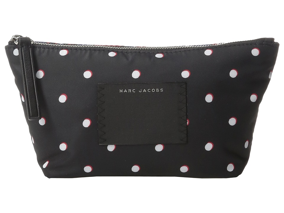 Marc Jacobs - B.Y.O.T. Cosmetics Trapezoid (Web Blue Multi) Cosmetic Case