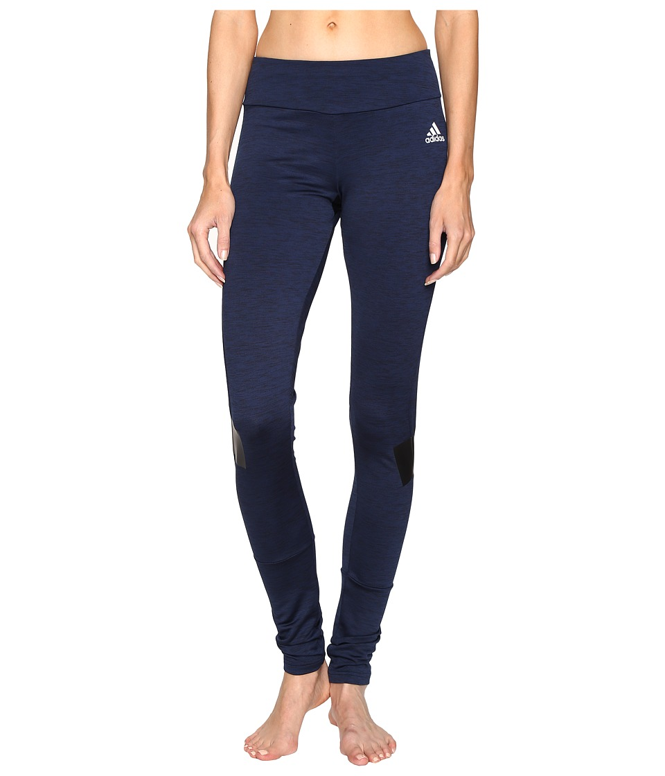 adidas - Warmer Tights (Collegiate Navy) Women's Workout
