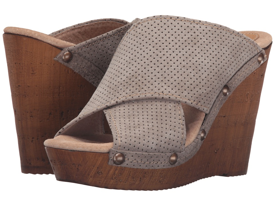 Sbicca - Declan (Stone) Women's Wedge Shoes