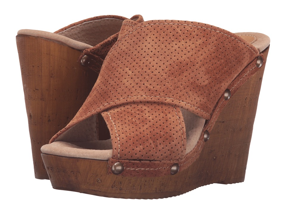 Sbicca - Declan (Rust) Women's Wedge Shoes