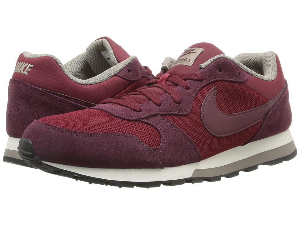 Nike - MD Runner 2 (Team Red/Night Maroon/Lght Taupe/Sail) Men's Classic Shoes