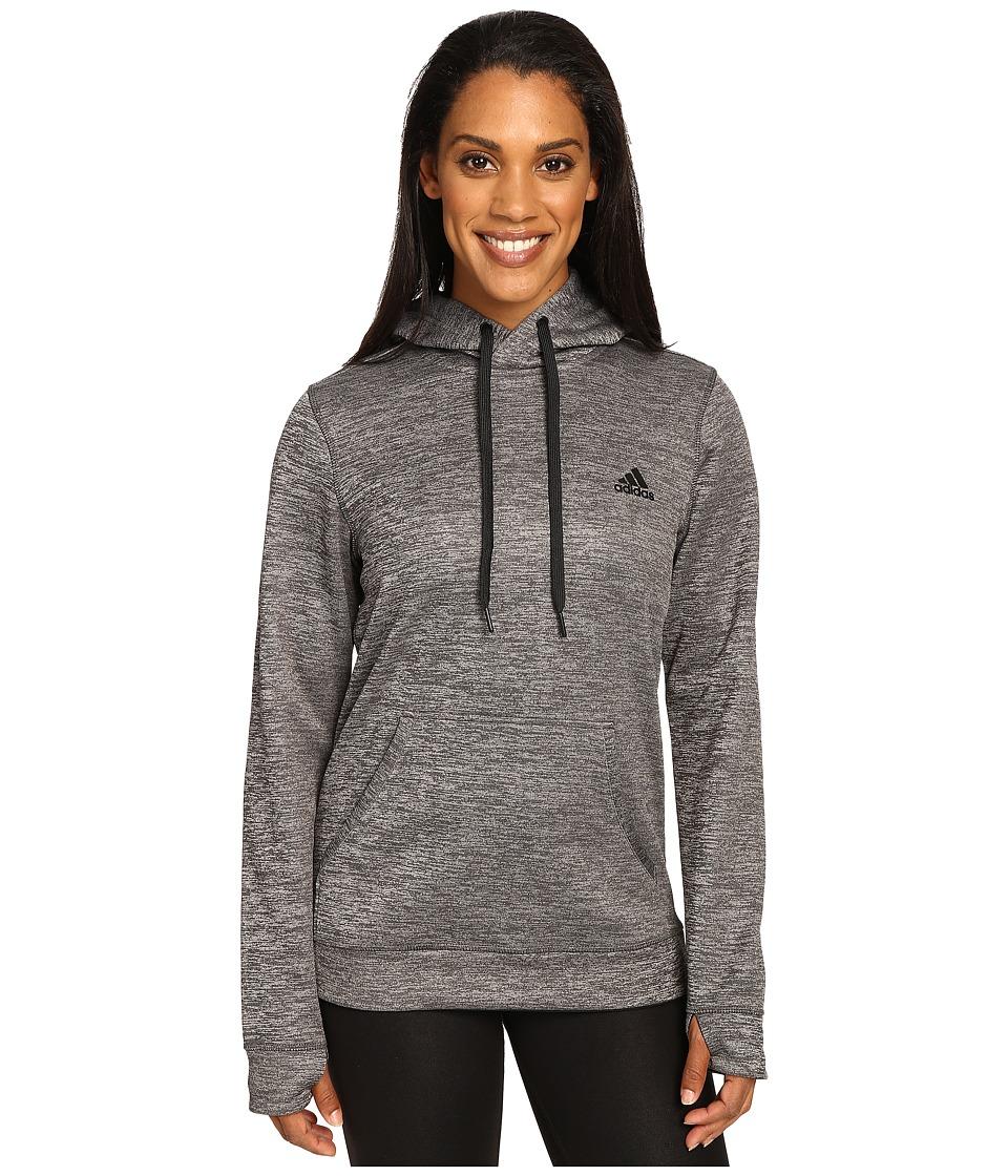 adidas - Team Issue Fleece Pullover Hoodie (Unity Ink Heather) Women's Sweatshirt