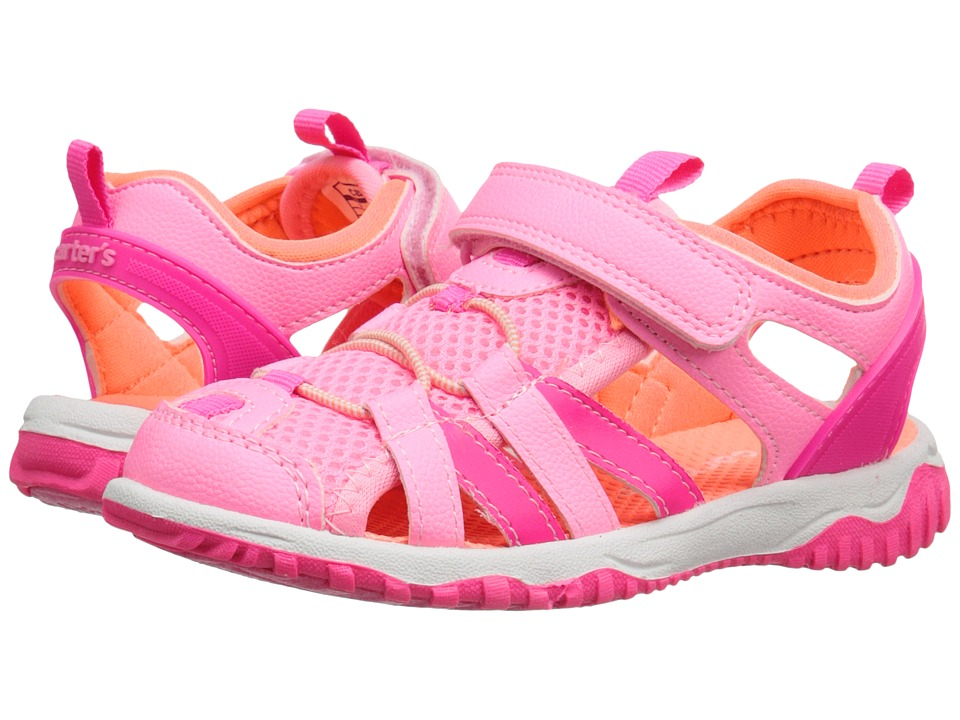 Carters - Premie2G (Toddler/Little Kid) (Pink/Peach) Girls Shoes