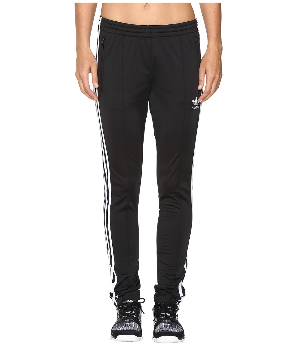 adidas Originals - Firebird Track Pants (Black/White) Women's Workout