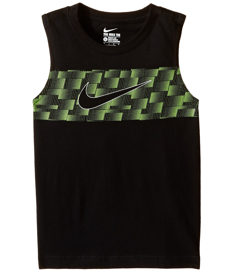 Nike Kids - Ultra Swoosh Muscle Tee (Little Kids) (Black) Boy's T Shirt