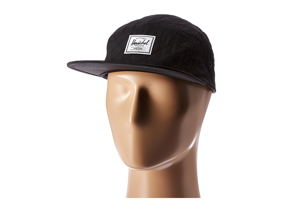 Herschel Supply Co. - Glendale Classic (Black Quilted) Caps