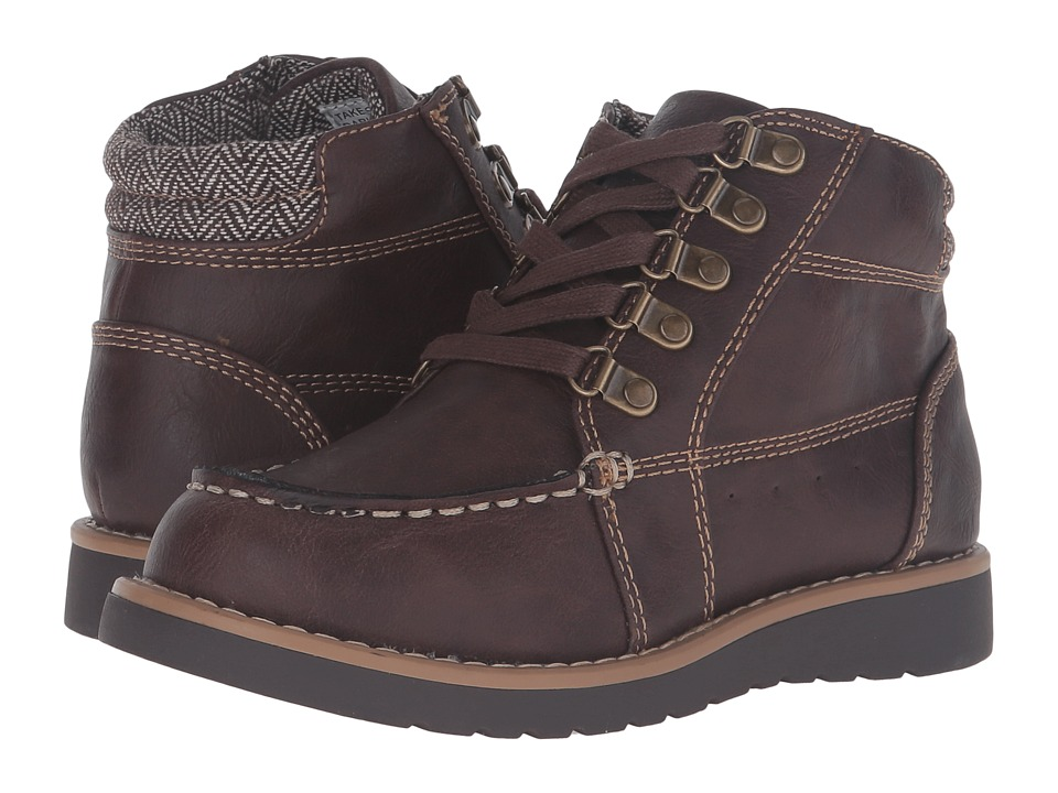 Kenneth Cole Reaction Kids - Take Squared (Little Kid/Big Kid) (Brown) Boy's Shoes