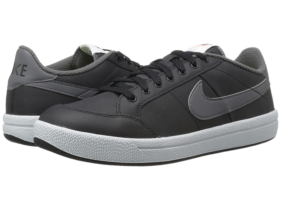 Nike - Meadow '16 Leather (Black/Dark Grey/Pure Platinum) Men's Tennis Shoes