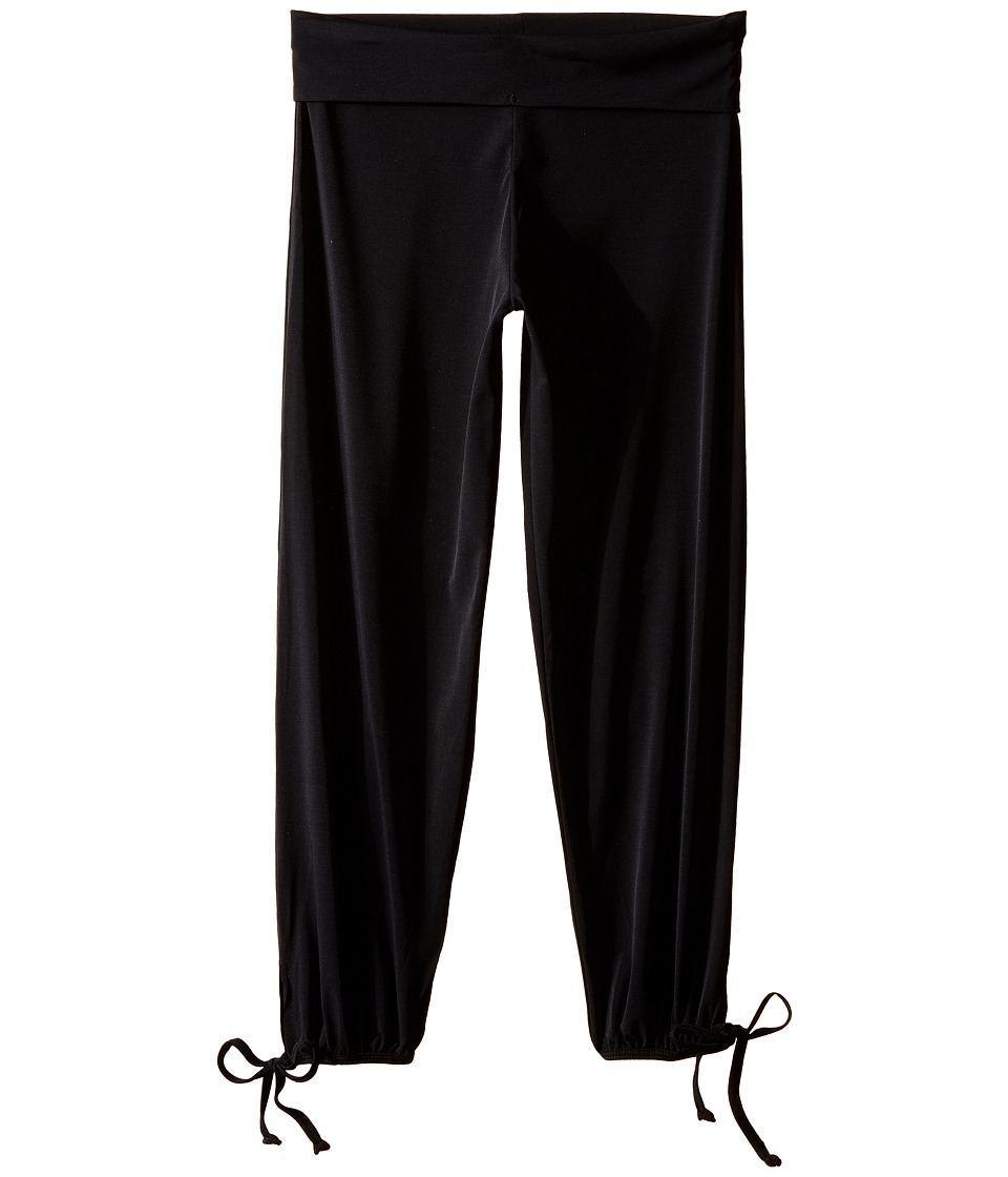 Onzie Kids - Gypsy Pants (Little Kids/Big Kids) (Black) Girl's Casual Pants