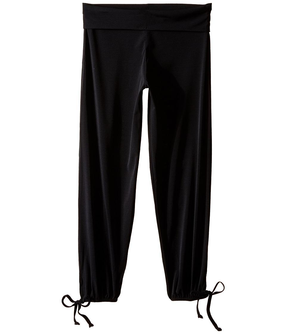 Onzie Kids Gypsy Pants (Little Kids/Big Kids) (Black) Girl's Casual Pants