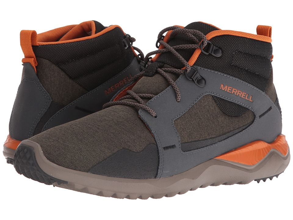 Merrell - 1Six8 Mid (Dusty Olive) Men's Lace up casual Shoes