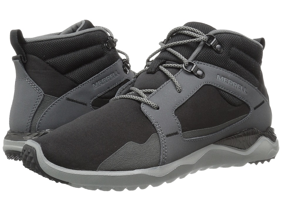 Merrell 1Six8 Mid (Black/Black) Men