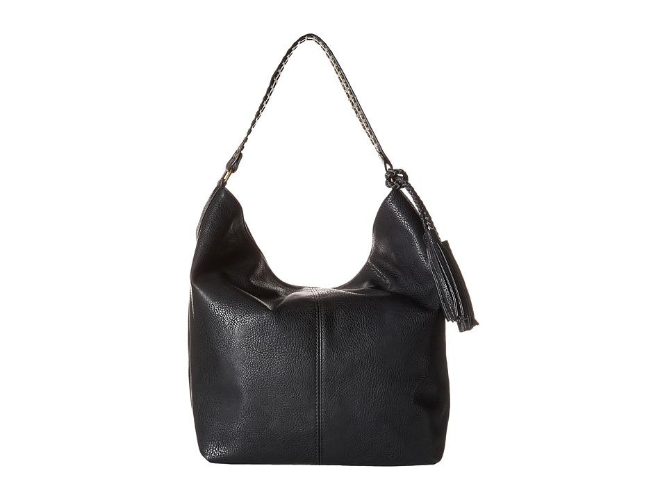 CARLOS by Carlos Santana - Sienna Bucket (Black) Hobo Handbags