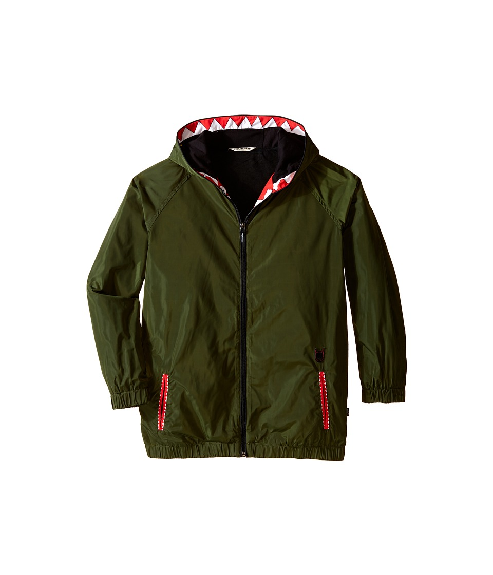 Munster Kids - Spray It Jacket (Big Kids) (Olive) Boy's Coat