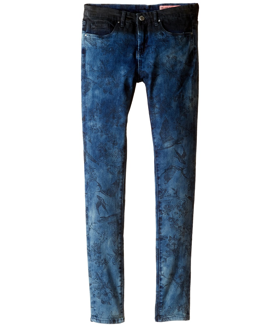 Blank NYC Kids - Denim/Black Novelty Jeans in Dreamweaver (Big Kids) (Dreamweaver) Girl's Jeans