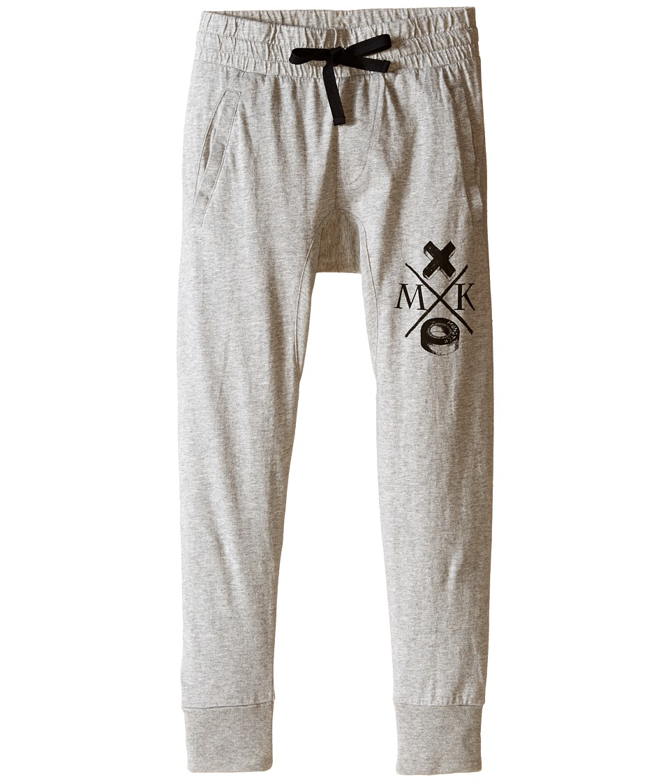 Munster Kids - Jersey Cruz Track Pants (Toddler/Little Kids/Big Kids) (Grey Marle) Boy's Casual Pants