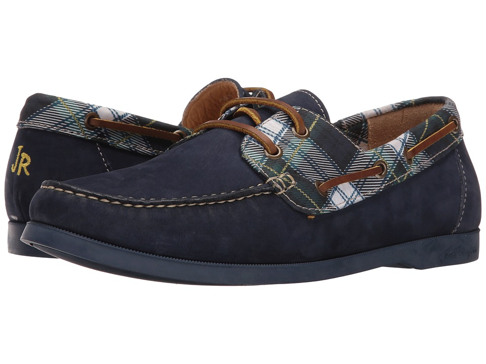 Jack Rogers - Easton (Navy Plaid) Men's Flat Shoes