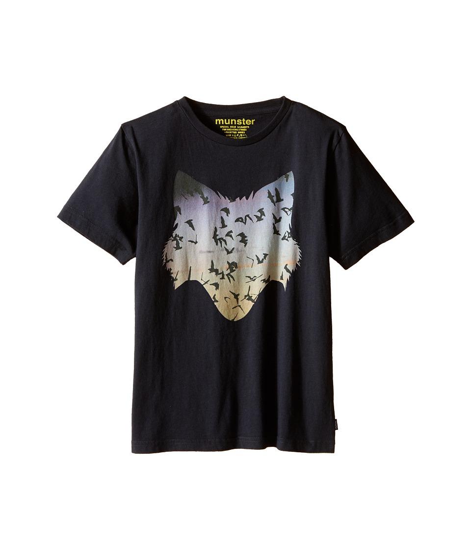 Munster Kids - Freedom Tee (Big Kids) (Soft Black) Boy's T Shirt