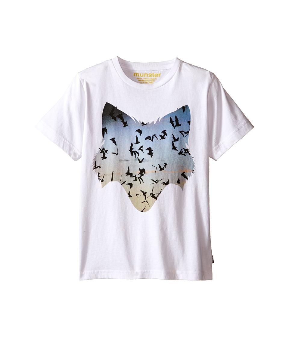 Munster Kids - Freedom Tee (Toddler/Little Kids) (White) Boy's T Shirt