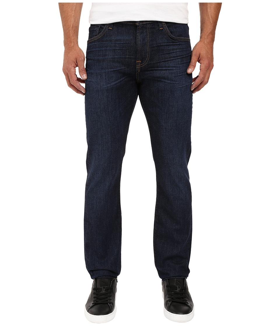 7 For All Mankind - Slimmy Slim Straight in Manchester Fields (Manchester Fields) Men's Jeans
