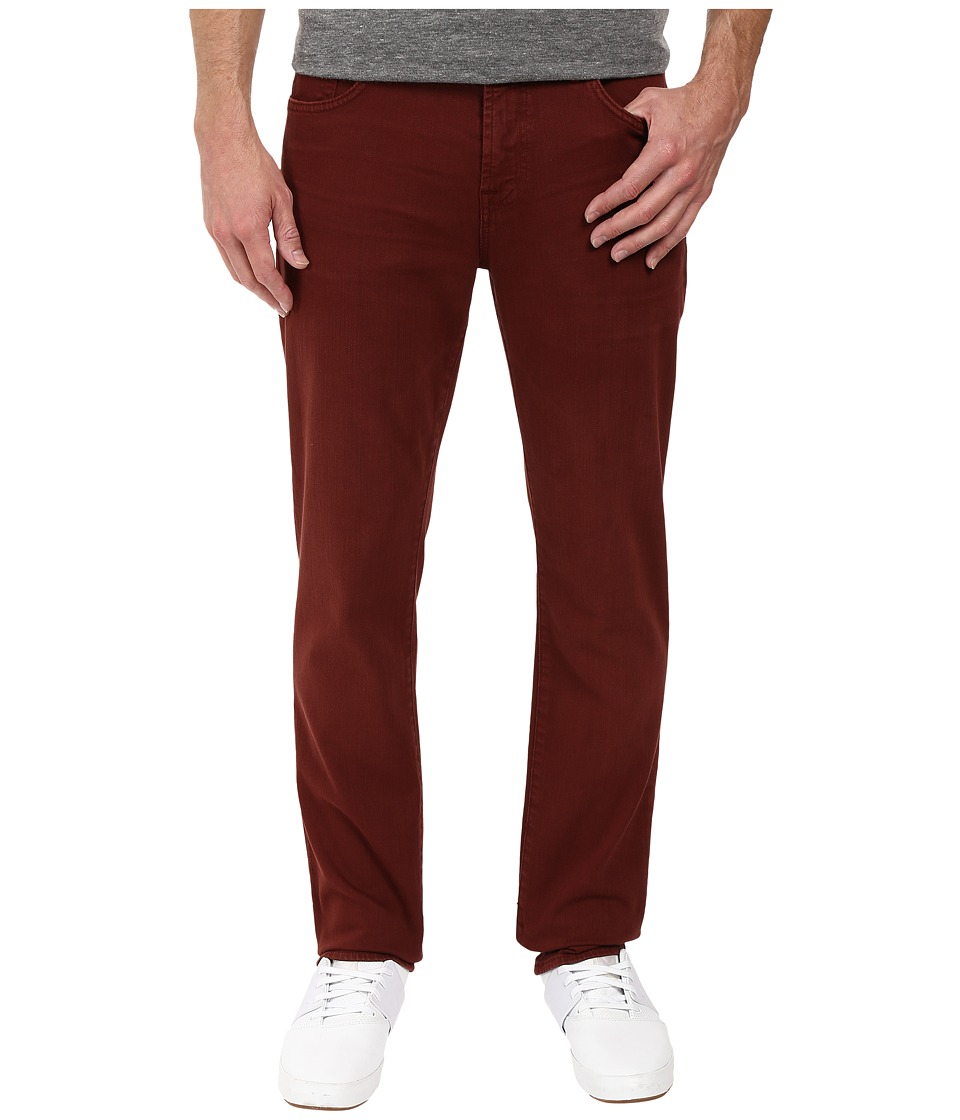 7 For All Mankind - Slimmy Slim Straight in Chianti (Chianti) Men's Jeans