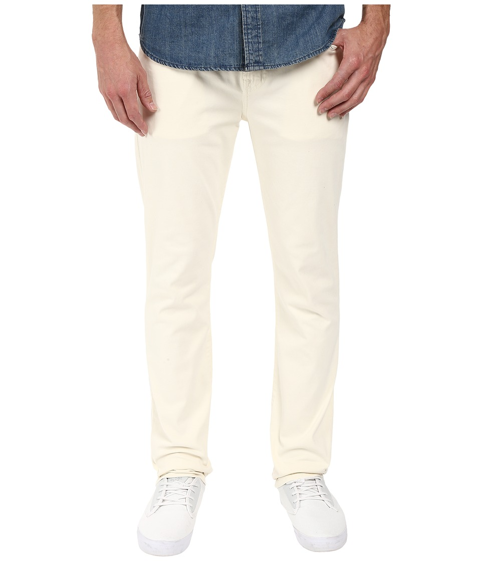 7 For All Mankind - The Straight in Bone (Bone) Men's Jeans