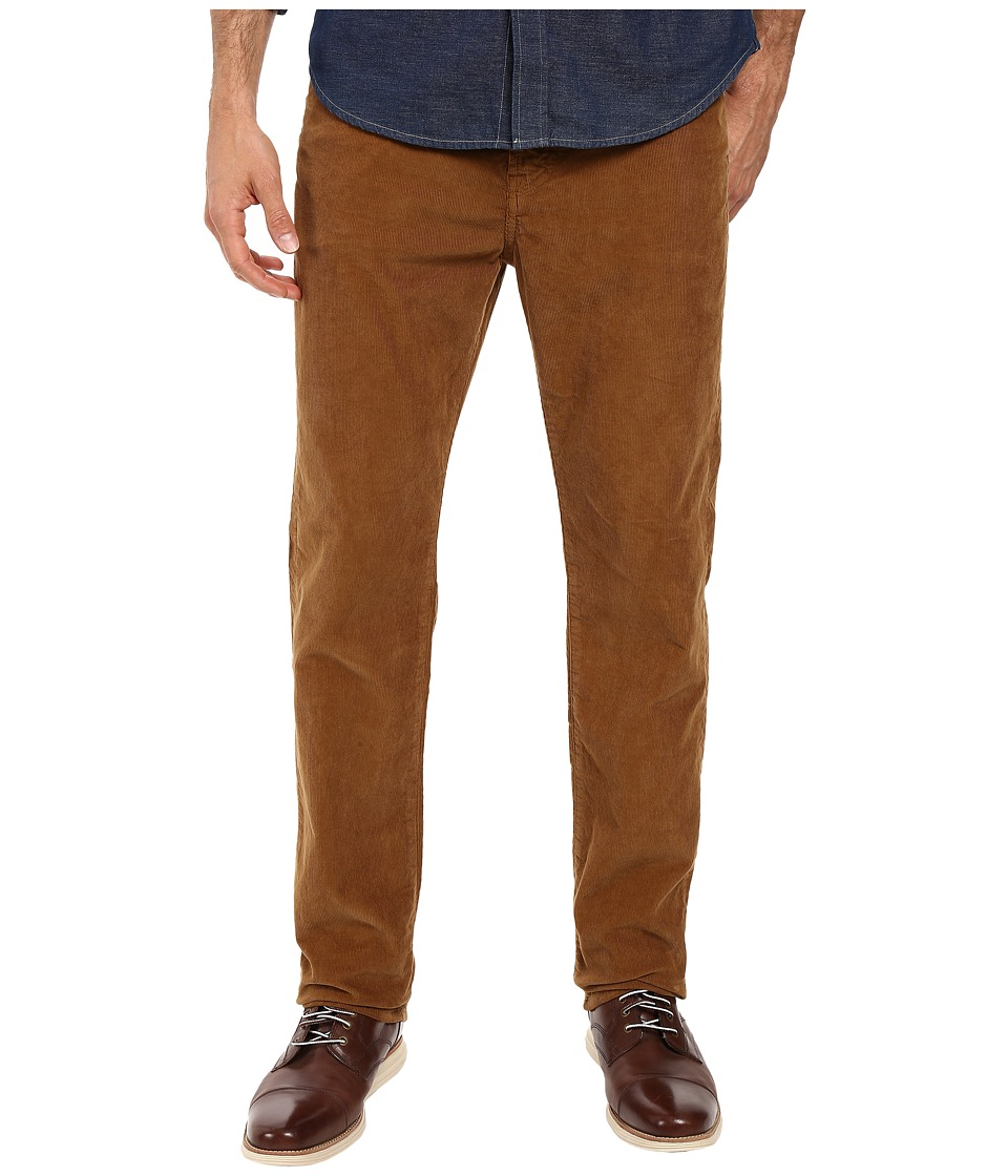 7 For All Mankind - Slimmy Slim Straight w/ Clean Pocket in Butterscotch (Butterscotch) Men's Jeans