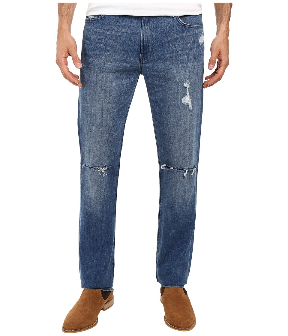 7 For All Mankind - Slimmy w/ Destroy in California Distressed (California Distressed) Men's Jeans