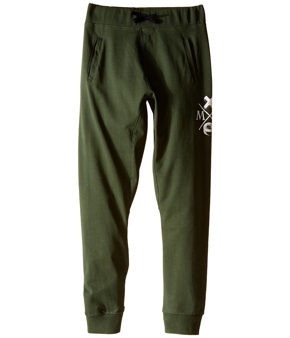 Munster Kids - Dum Dum Track Pants (Big Kids) (Olive) Boy's Casual Pants