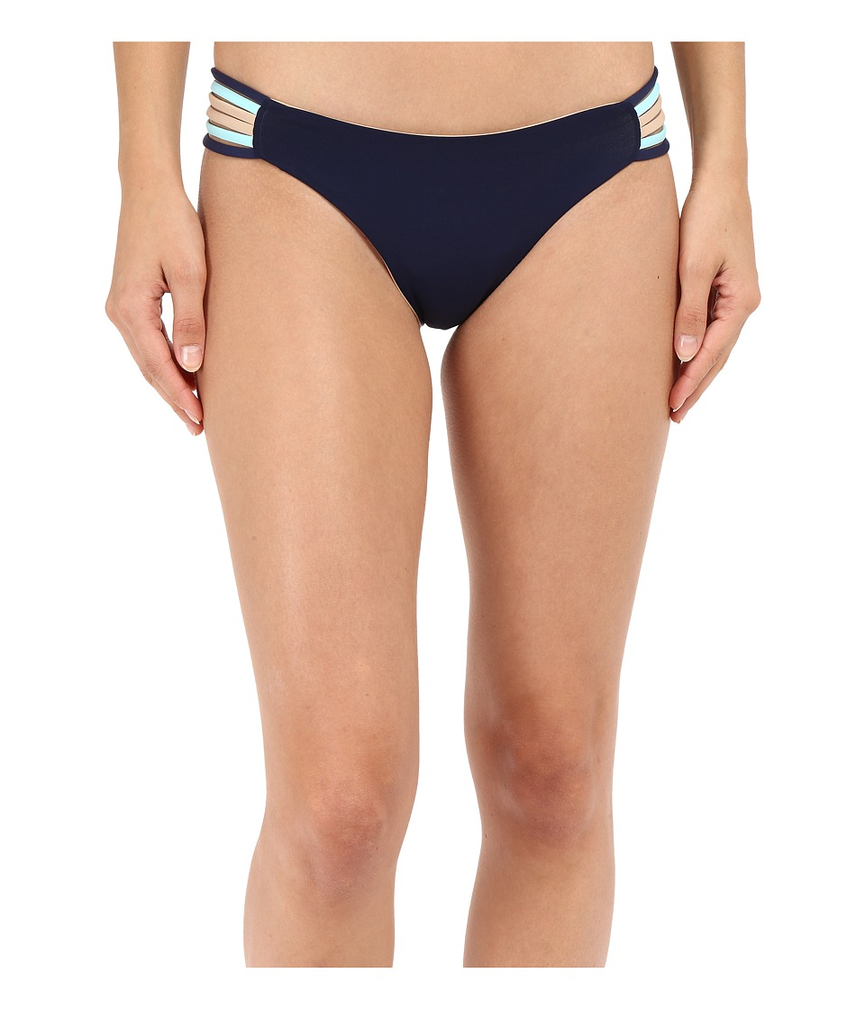 L*Space Color Block Oasis Classic Bottom (Midnight Blue) Women