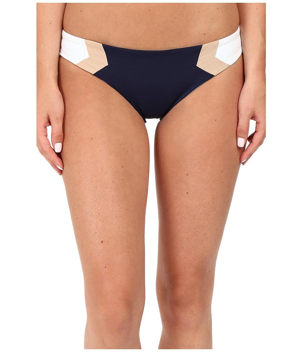 L*Space - Color Block Barracuda Classic Bottom (Midnight Blue) Women's Swimwear