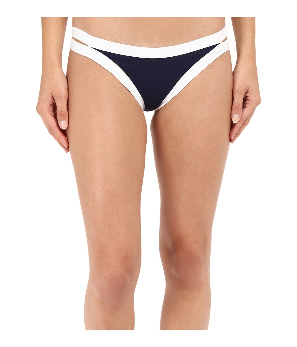 L*Space - Color Block Charlie Bottom (Midnight Blue) Women's Swimwear