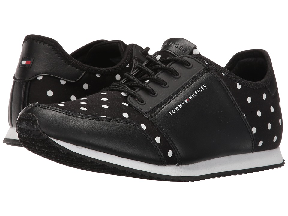 Tommy Hilfiger - Mallie (Black/White Polka Dot) Women