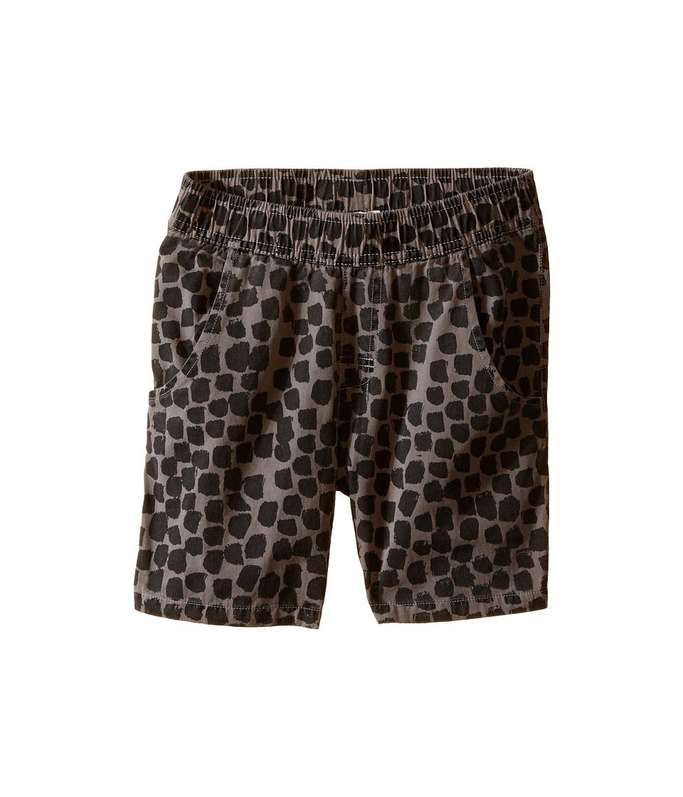 Munster Kids - Spot on Walkshorts (Toddler/Little Kids/Big Kids) (Charcoal) Boy's Shorts