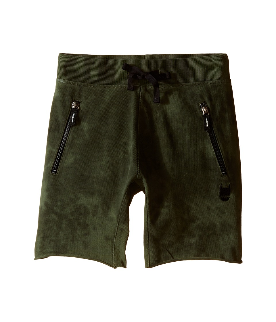 Munster Kids - Duffer Walkshorts (Toddler/Little Kids/Big Kids) (Olive) Boy's Shorts