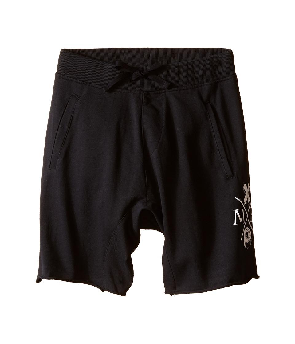 Munster Kids - Dum Dum Walkshorts (Big Kids) (Black) Boy's Shorts