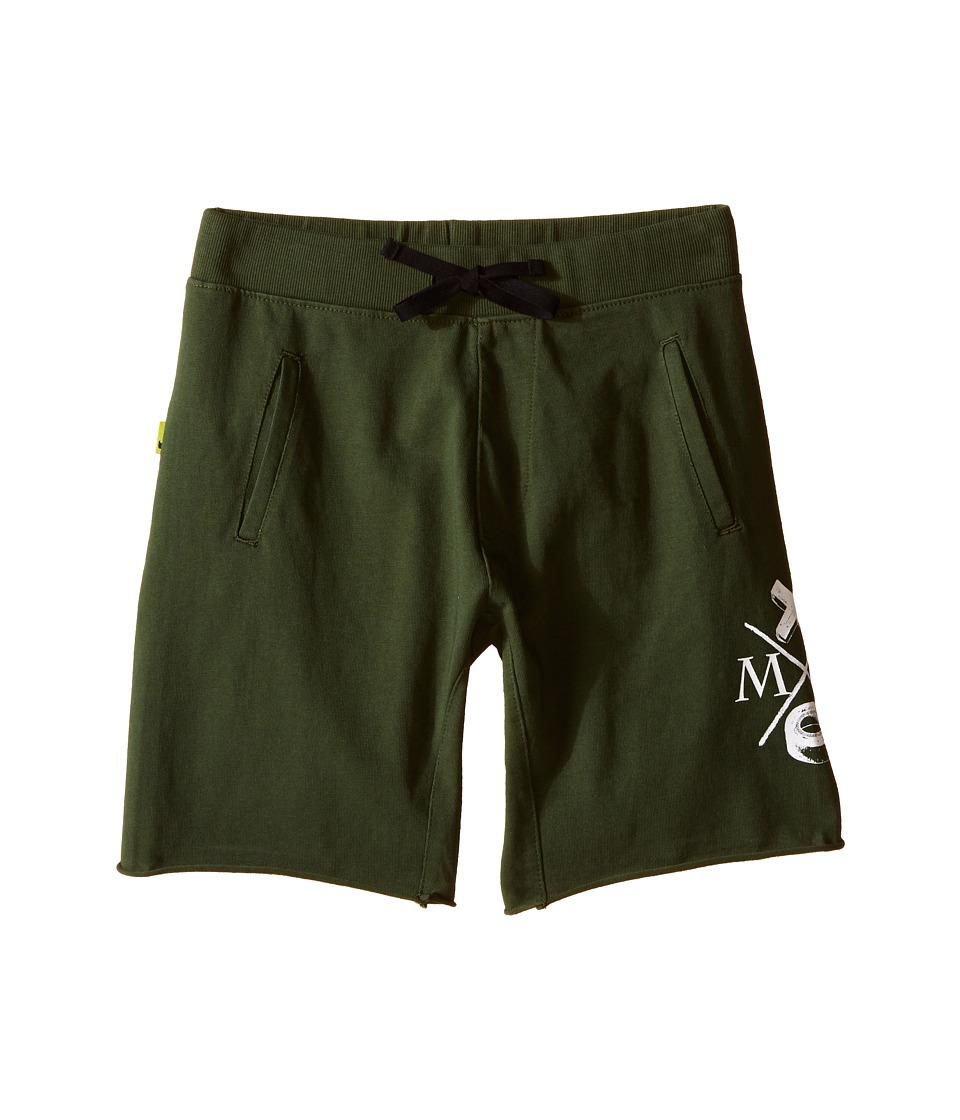 Munster Kids - Dum Dum Walkshorts (Big Kids) (Olive) Boy's Shorts