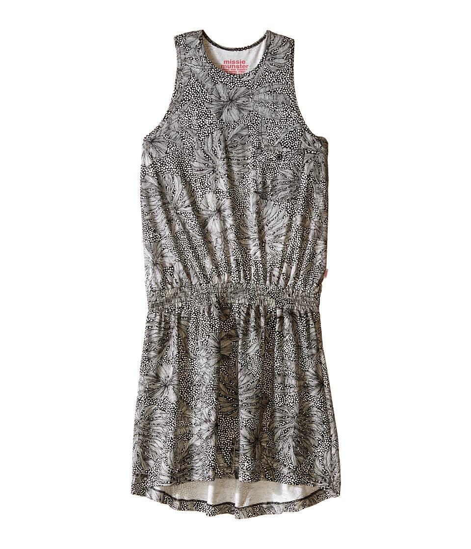 Munster Kids - Jungle Dress (Big Kids) (Vintage Black/Oatmeal Marle) Girl's Dress