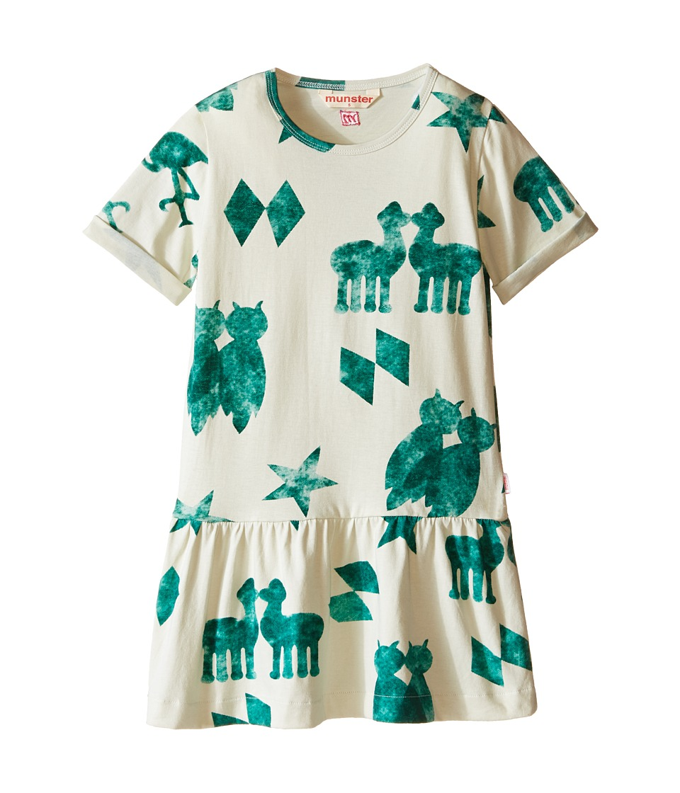 Munster Kids - Pairs Dress (Toddler/Little Kids) (Artichoke) Girl's Dress