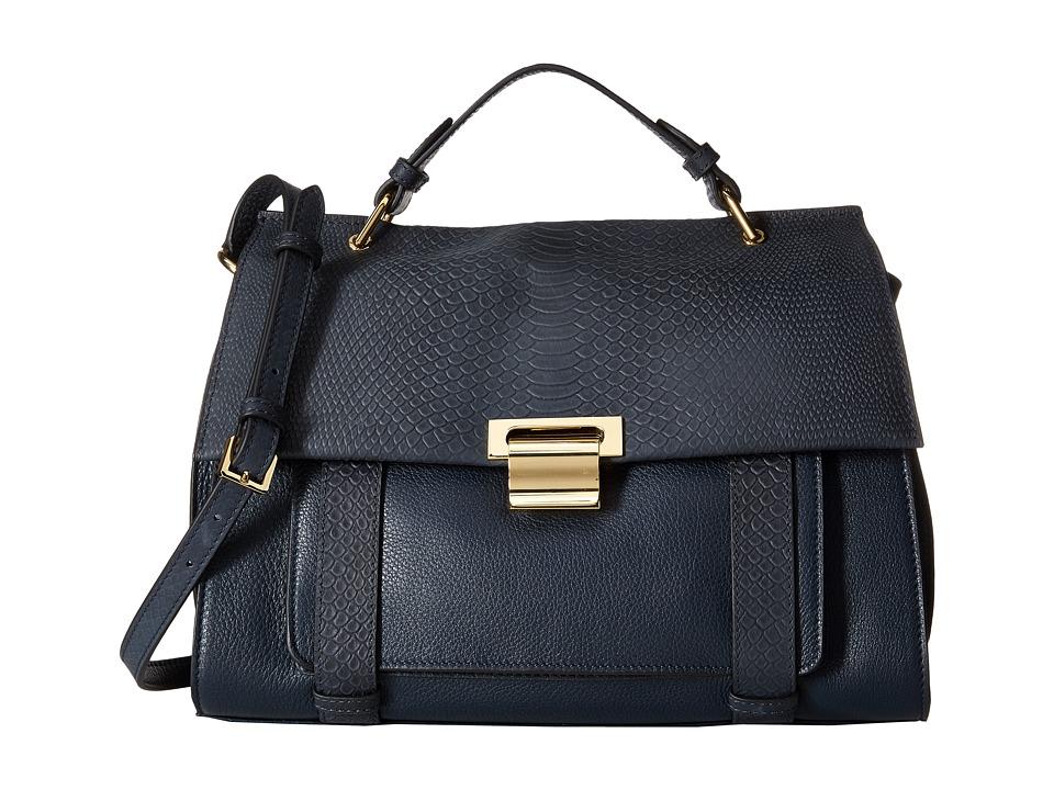 Ivanka Trump - Turner Satchel (Midnight) Satchel Handbags