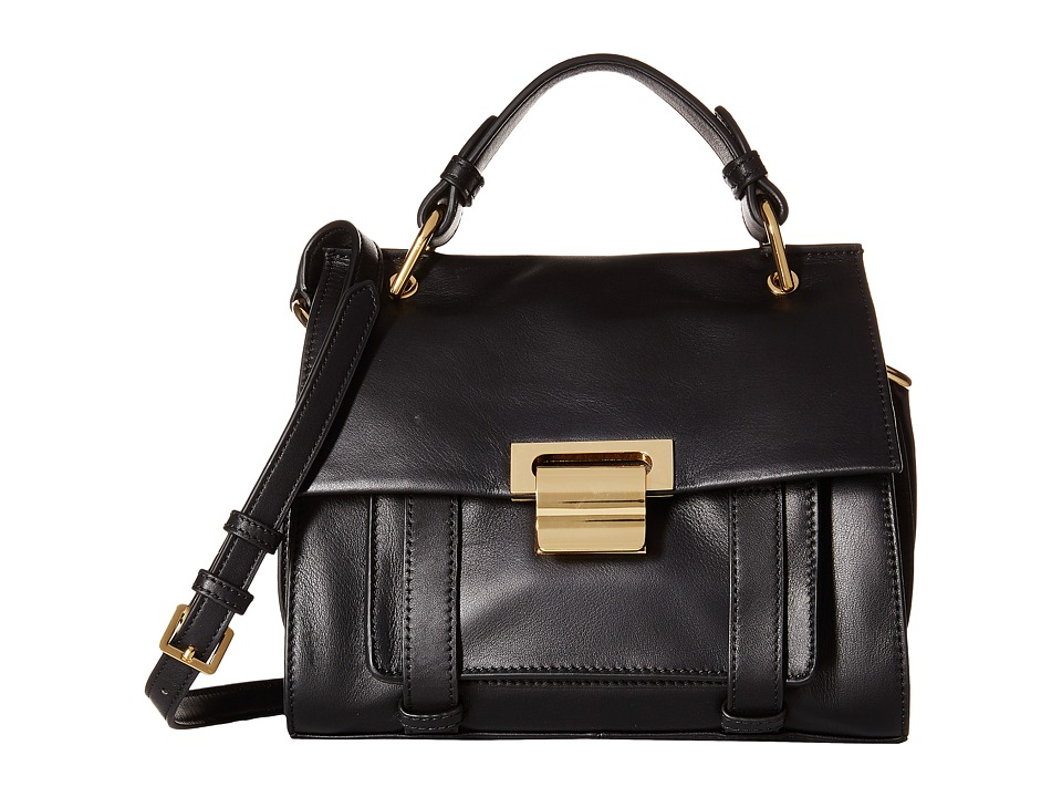Ivanka Trump - Turner Small Satchel (Black) Satchel Handbags