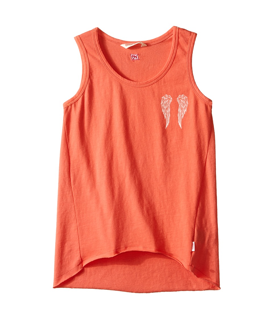 Munster Kids - Angel Tank Top (Toddler/Little Kids/Big Kids) (Coral) Girl's Sleeveless