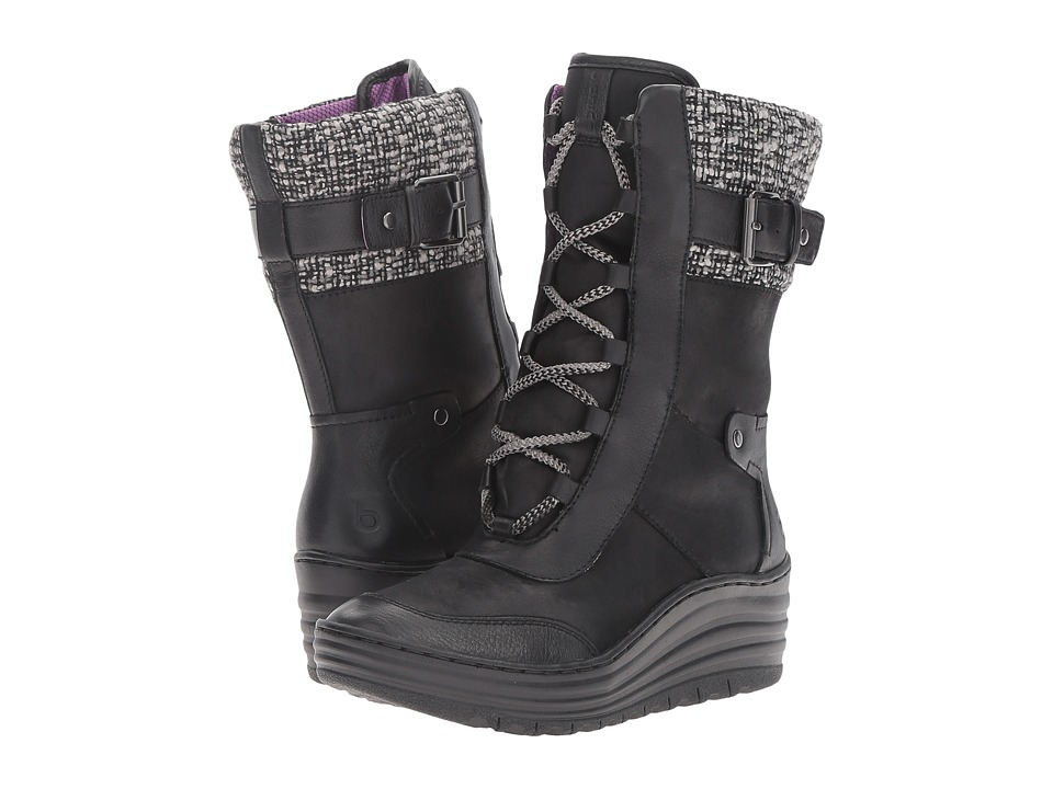 Bionica - Garland (Black) Women's Lace-up Boots