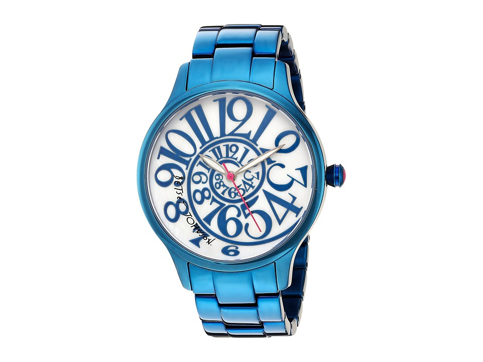 Betsey Johnson - BJ00040-20 - All Over Blue (Blue) Watches