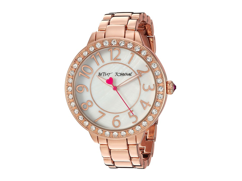 Betsey Johnson - BJ00397-25 - Simple Rose Gold (Rose Gold) Watches
