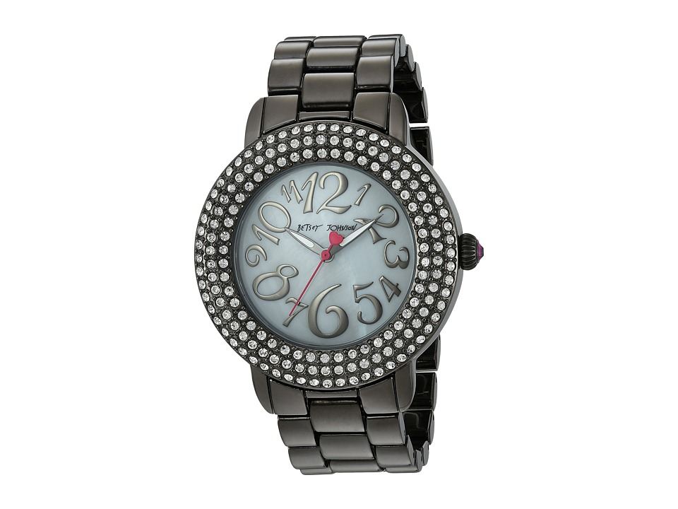 Betsey Johnson - BJ00306-07 - Blinged Jet (Jet) Watches