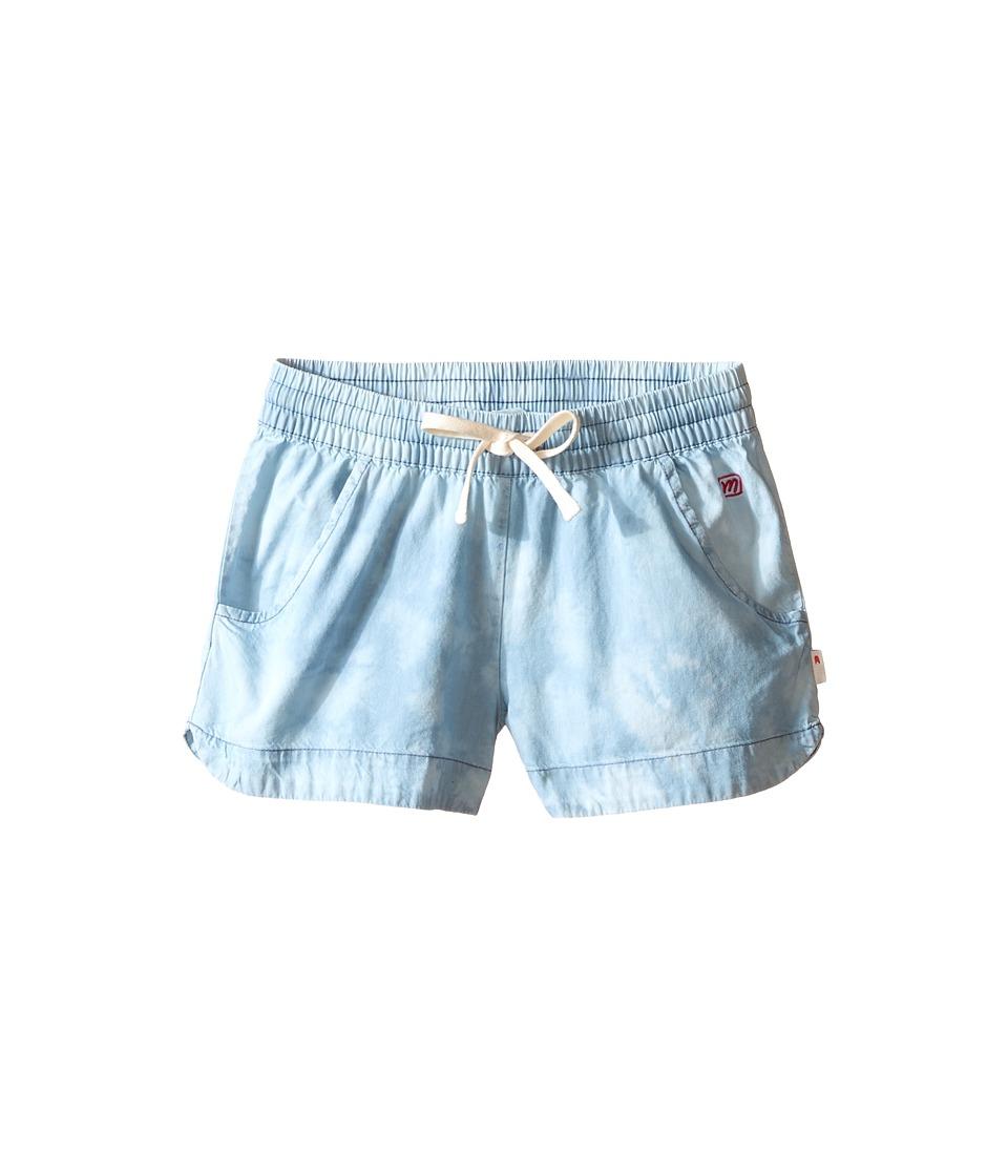 Munster Kids - Scoop 2 Walkshorts (Toddler/Little Kids/Big Kids) (Acid Blue) Girl's Shorts