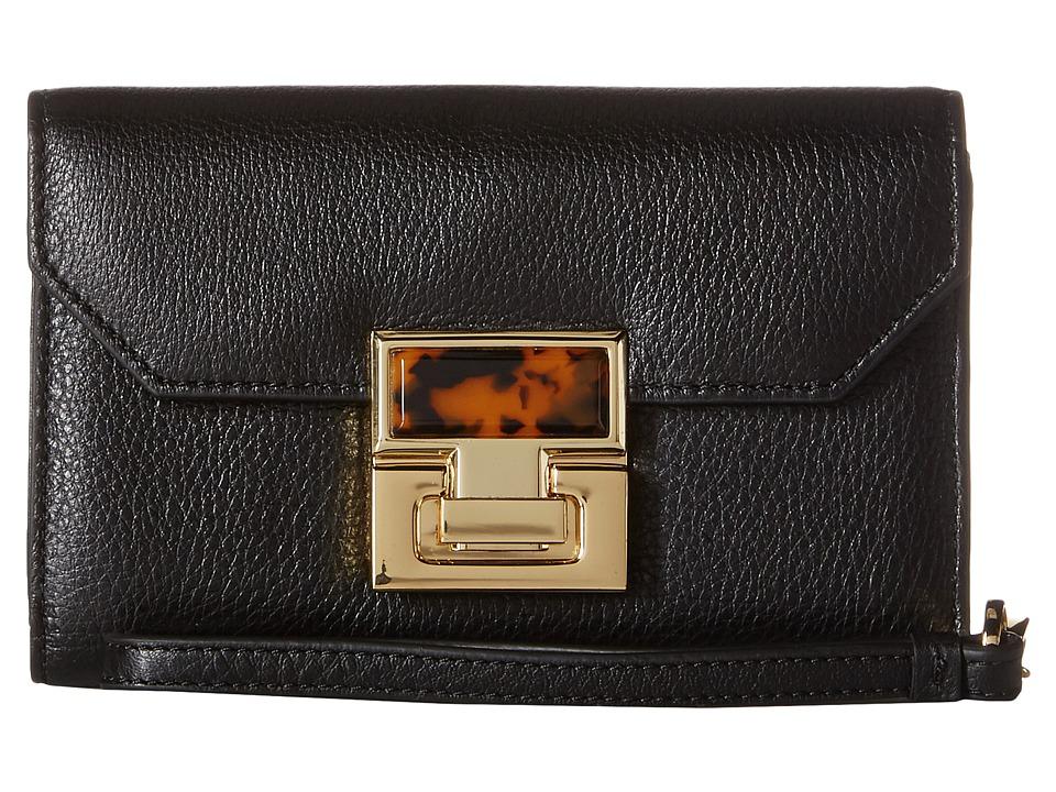 Ivanka Trump - Hopewell Smartphone Wristlet (Black) Wristlet Handbags